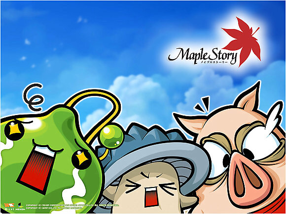 Maple Story!!