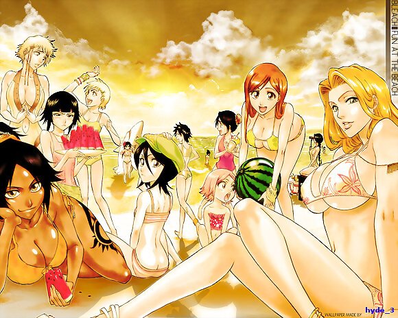 chicas sexy  bleach