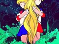 sailor moon y sailor venus