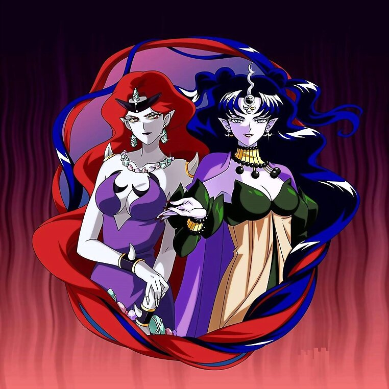 Beryl y Nehelenia (Sailor Moon)