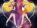 Sailor V y Sailor Venus (Sailor Moon)