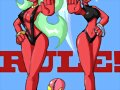 Scanty y Kneesocks (Panty & Stocking With Garterbe