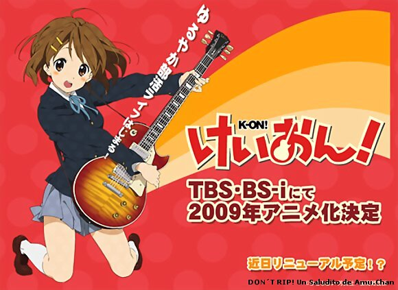 K-ON! - A super great anime! xD