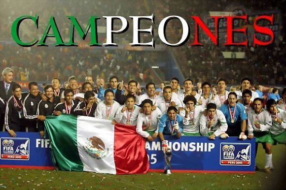 Mexico CAMPEON.