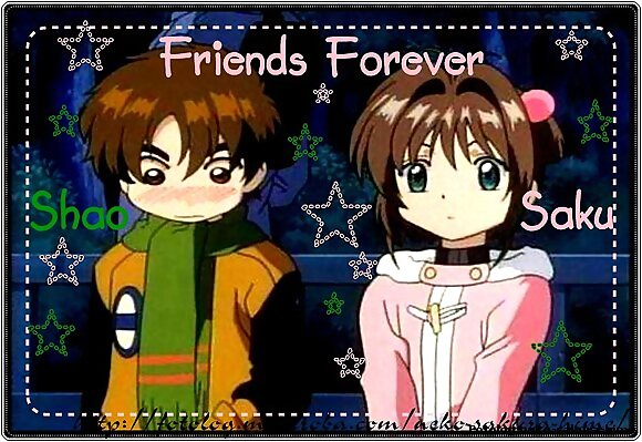 Friends Forever verdad? n_n