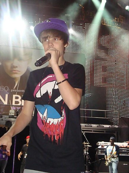 Justin en las vegas  --  my world tour
