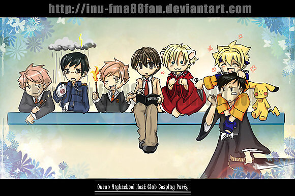 cosplay ouran nwn