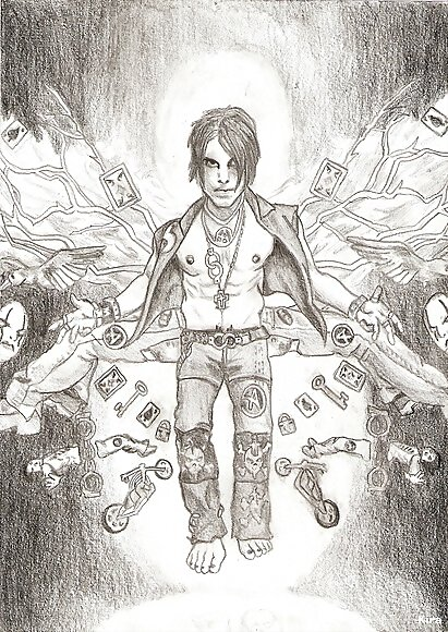 Dibujo - Criss Angel