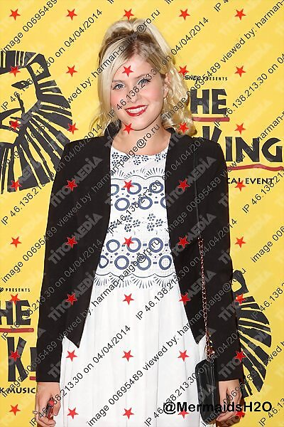 Amy Ruffle - The Lion King Musical in Sydney 2013