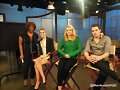 Lucy Fry, Zoey Deutch y Dominic Sherwood 2014
