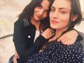 Danielle Campbell & Phoebe Tonkin