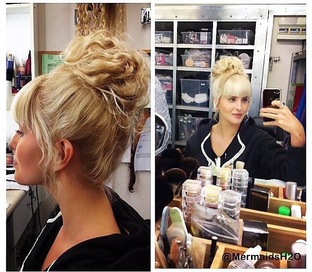 Amy Ruffle - behind-the-scenes Mako Mermaids S2