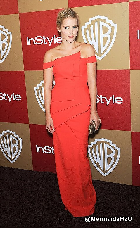 Claire Holt -InStyle & WB Golden Globes Party 2013