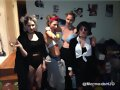 Cariba Heine - 90's themed costume party 2014