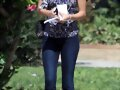 Phoebe Tonkin - Out for a Walk in LA (Oct 1, 2012)