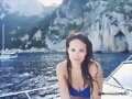 Allie Bertram en Amalfi Coast, Italy