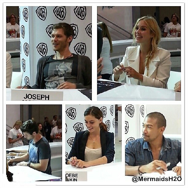 Phoebe & Claire - Comic Con The Originals signing