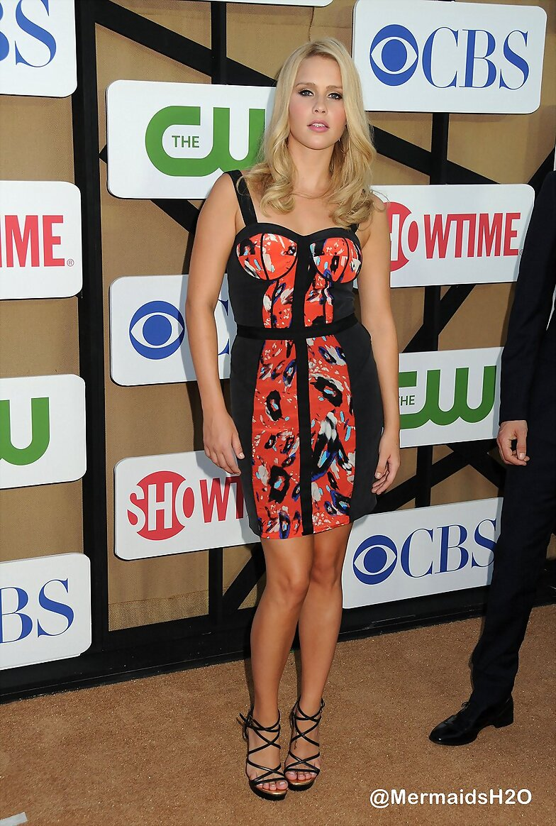 Claire Holt - CW, CBS & Showtime 2013 Summer TCA