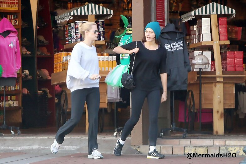 Claire Holt & Phoebe Tonkin in New Orleans 2013