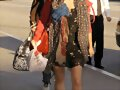 Phoebe Arrives at LAX airport in Los Angeles