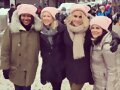 Claire Holt - Women's March (January 21, 2017)