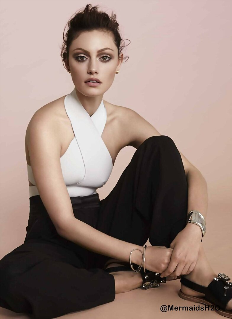 Phoebe Tonkin photoshoot  'Miss Vogue' 2013