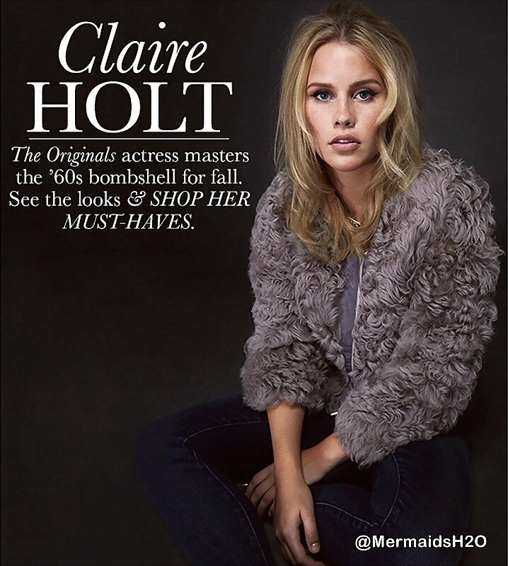 Claire Holt photo shoot 'Who What Wear' 2013