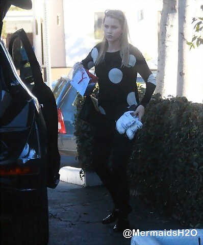 Claire Holt in Los Angeles (Dec 15, 2013)