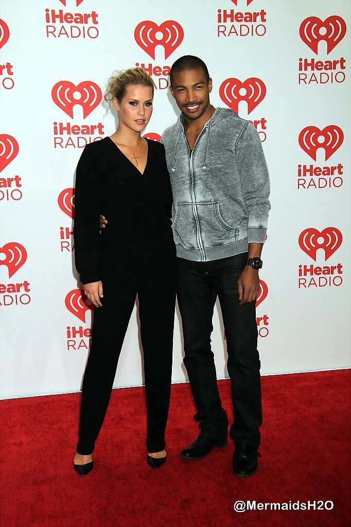 Claire Holt & Charles M. Davis - iHeartRadio 2013