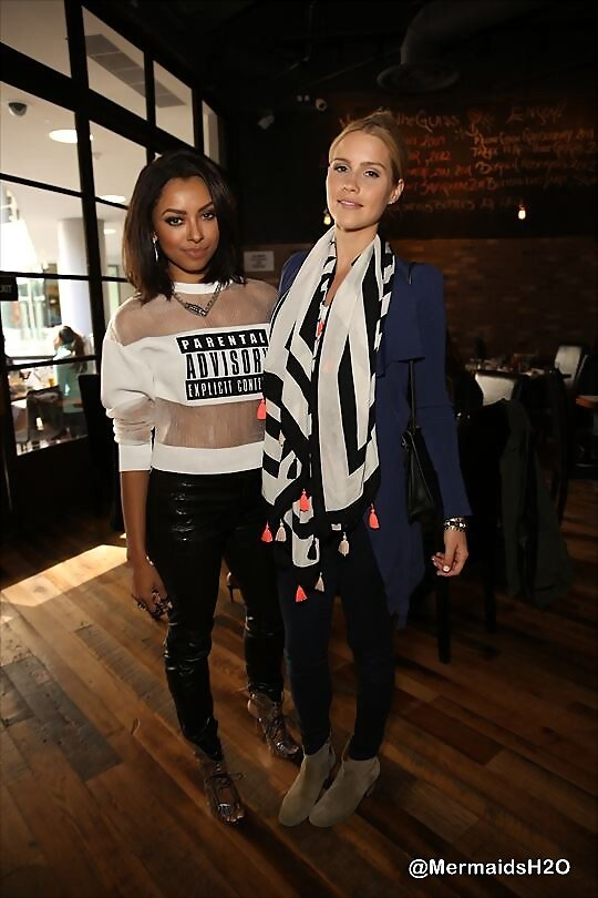 Claire Holt & Kat Graham - Jimmy Choo Event 2014