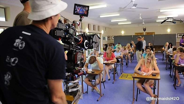 Behind-the-scenes H2O Just Add Water 3º temporada
