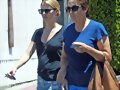 Claire Holt y su madre en Los Angeles, May 14,2014