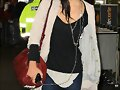 Phoebe Tonkin; LAX airport in Los Angeles