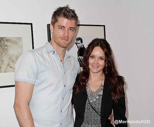 Luke Mitchell & Rebecca Breeds - Billy Zane's 2016