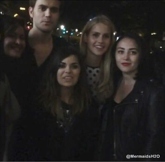 Claire Holt & The Originals cast | Paris, May 2014