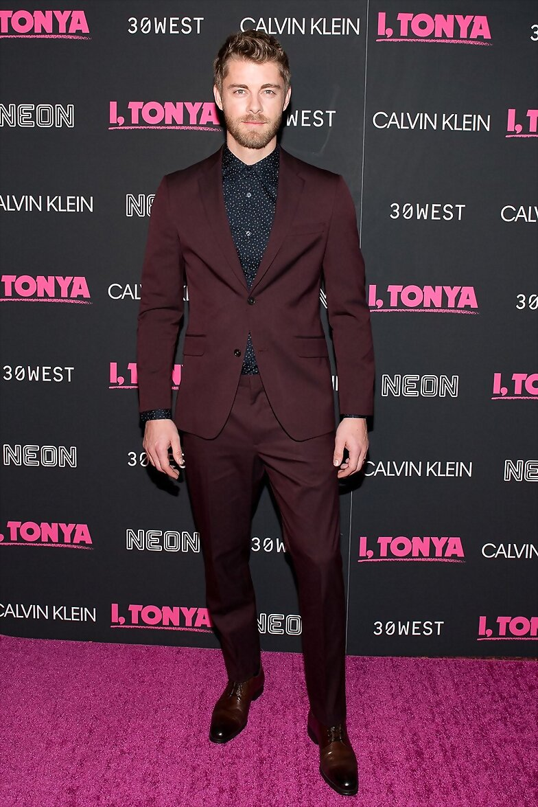 Luke Mitchell - I, Tonya New York Premiere | 2017