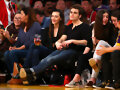 Phoebe Tonkin & Paul Wesley - LA Lakers game 2015
