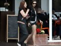 Phoebe Tonkin out to lunch in LA, May 9, 2015