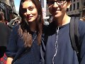 Phoebe Tonkin con fans en Paris, May 25, 2015