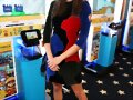 Phoebe Tonkin - Nintendo Lounge TV Guide Comic Con