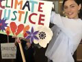 Phoebe Tonkin -Climate Change march | Jan 10, 2020