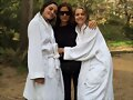 Phoebe Tonkin BTS photoshoot Vogue Australia 2015