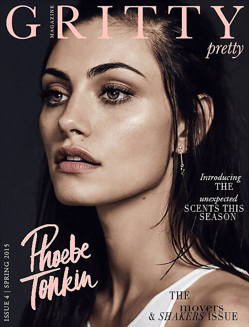 Phoebe Tonkin photoshoot Gritty Pretty Mag 2015