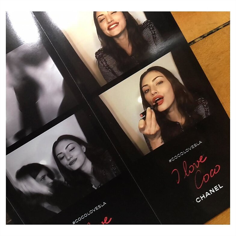 Phoebe Tonkin - 2016 I Love Coco Backstage Beauty