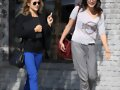 Phoebe Tonkin - Lunch at the Newsroom Cafe, Feb 25