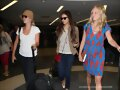 Claire Holt - Arrived At The LAX Airport In LA