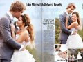 "Boda Luke Mitchell & Rebecca Breeds en ""New Idea"""