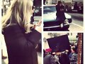 Claire Holt en el set de The Vampire Diaries T4