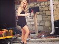 Claire Holt en el set de The Originals
