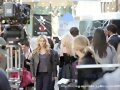 Behind the scenes Claire Holt en The Originals